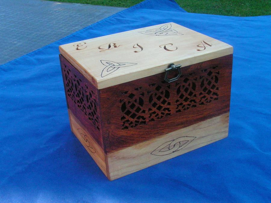Recipe Box - Woodworking Project by Celticscroller