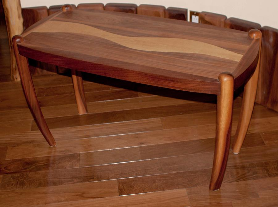 Bow legged coffee table - Woodworking Project by OYAMASAN