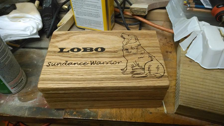 Pet Memory box - Woodworking Project by BurninBush