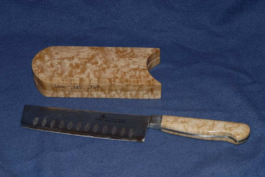 Nakiri chefs knife - Woodworking Project by Mark Michaels
