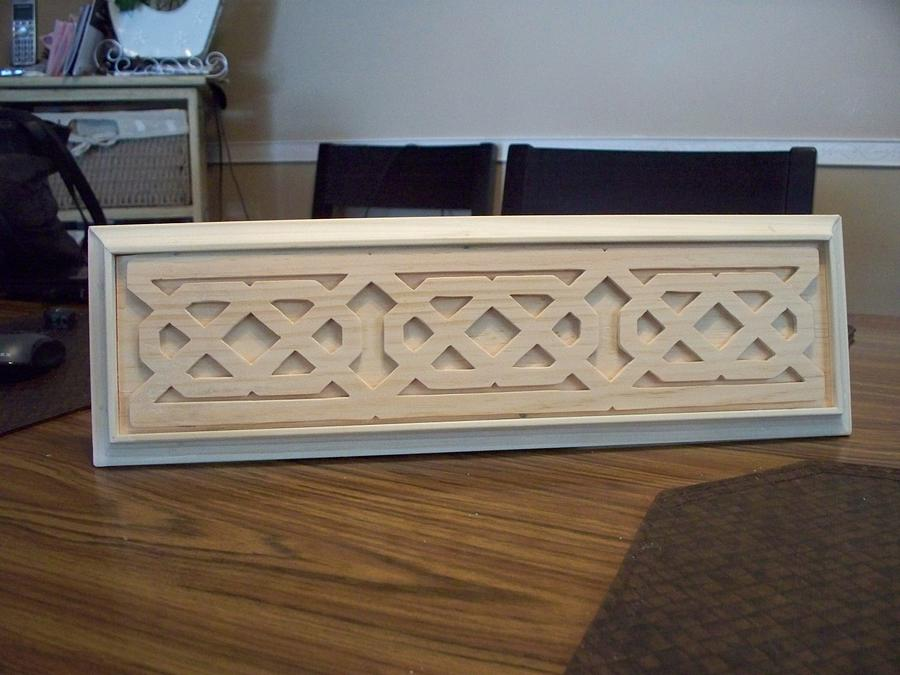 A piece for a friend's Fireplace - Woodworking Project by Boyne Drover