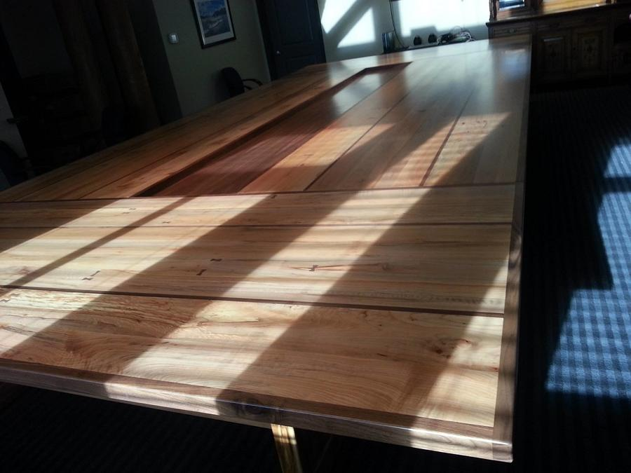 Boardroom Table - Woodworking Project by WestCoast Arts