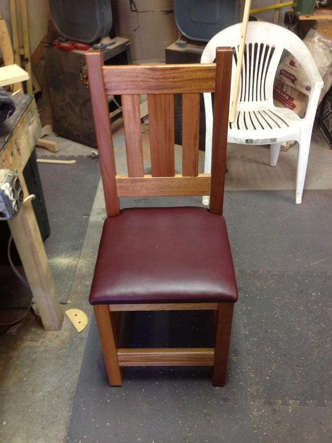 Kitchen Chairs - Woodworking Project by David A Sylvester