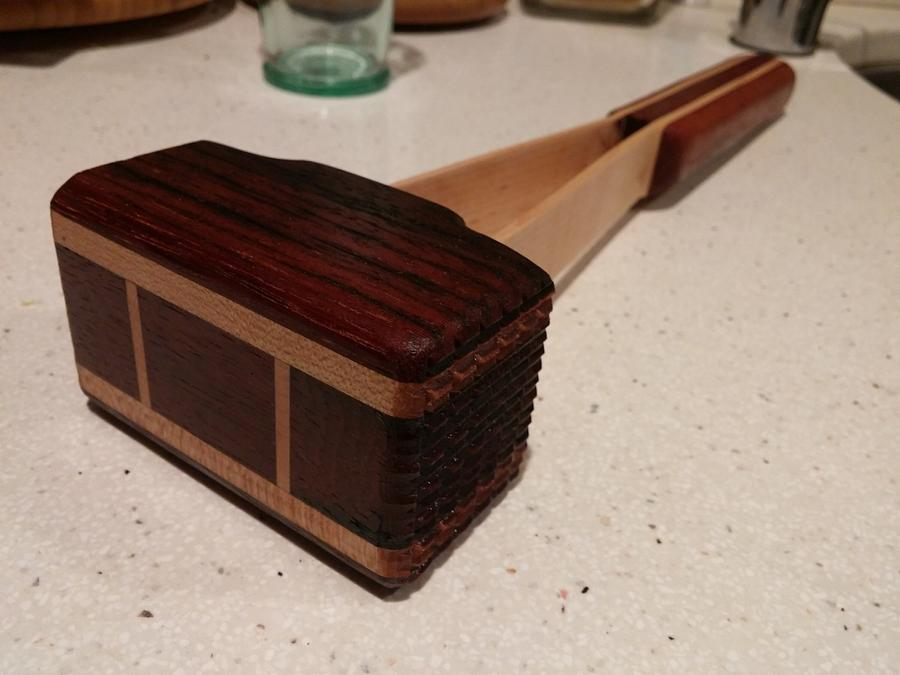 Schnitzel mallet - Woodworking Project by Brian