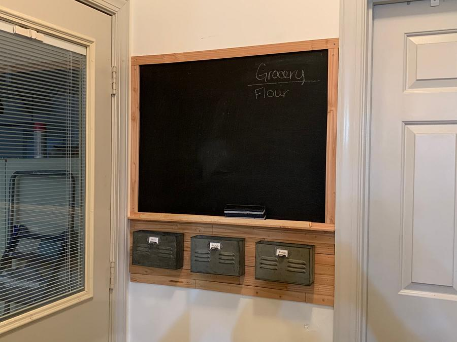 Mail/Message center - Woodworking Project by Vatech90