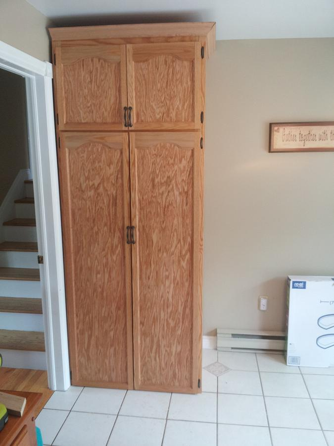 custom pantry - Woodworking Project by Prowler98