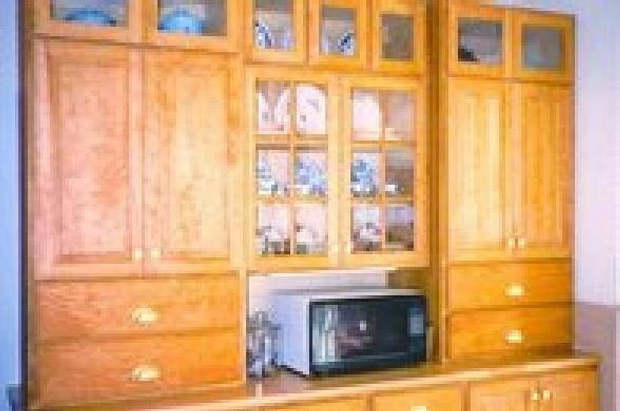 cherry kitchen cabinets - Woodworking Project by a1jim