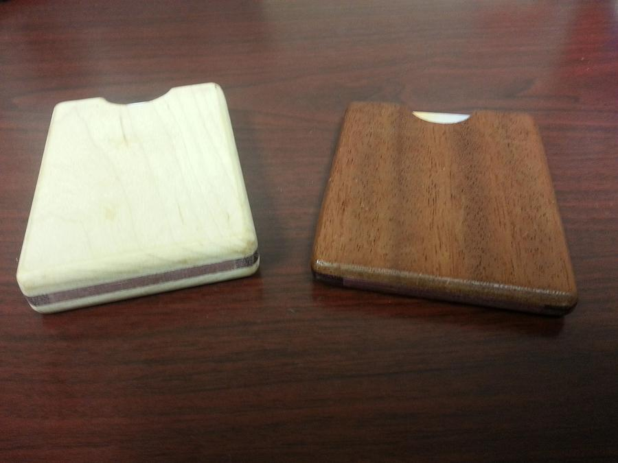 Wallet / Business card holder - Woodworking Project by David E.