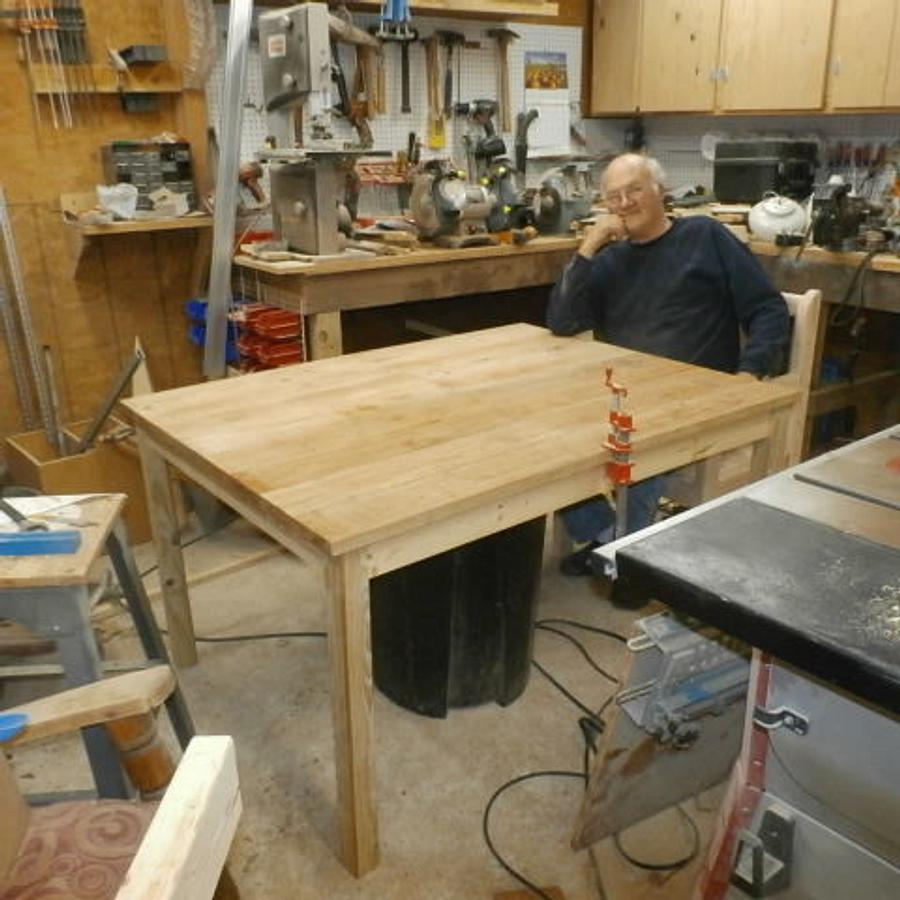 Dining Table and chairs - Woodworking Project by BillO