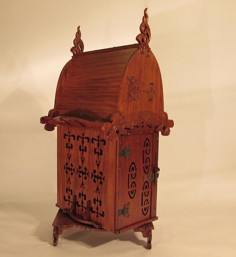 Charles Rohlfs Swivel Desk - Woodworking Project by Woodbridge
