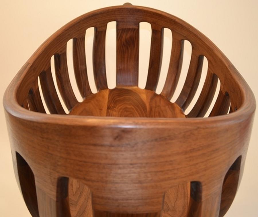 Scott Morrison Inspired Cradle - Woodworking Project by Steve Gaskins