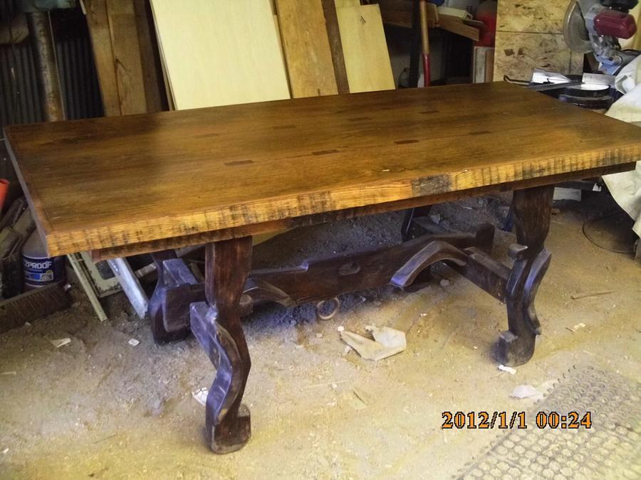 barnwood table - Woodworking Project by barnwoodcreations