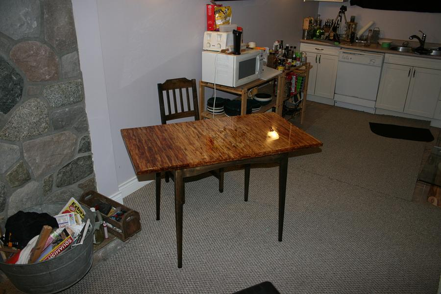 Kitchen Table - Woodworking Project by Railway Junk Creations