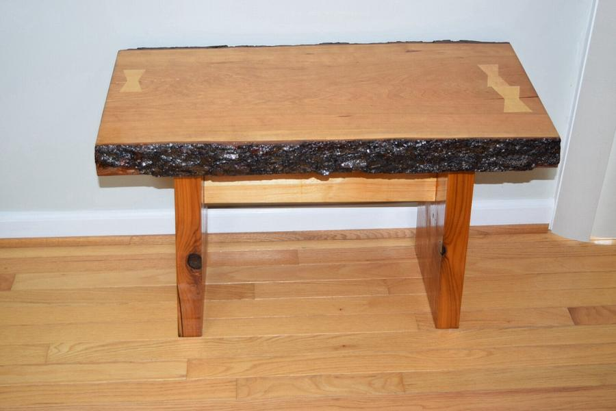 Cherry bench - Woodworking Project by Bill