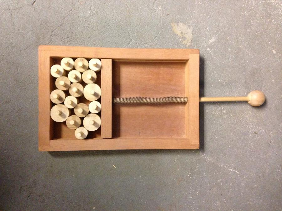 Booby-trap  - Woodworking Project by David A Sylvester