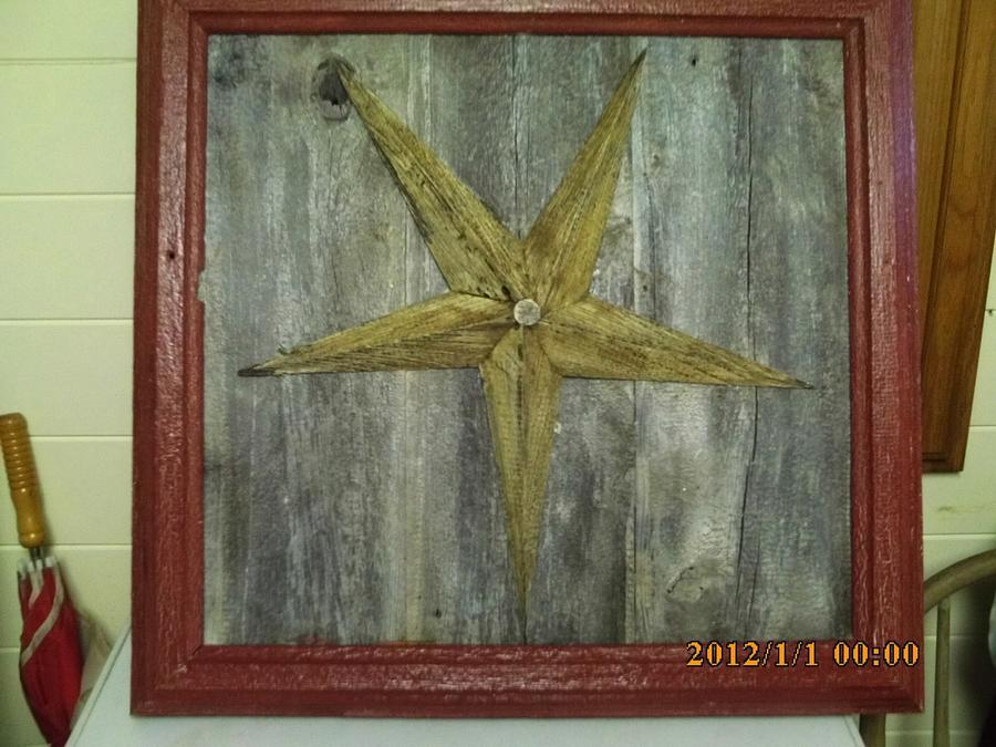 star wall art - Woodworking Project by barnwoodcreations