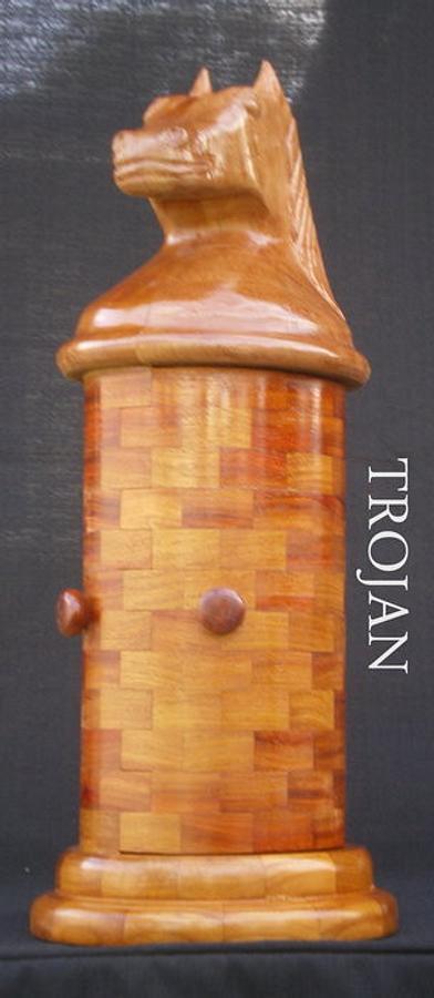 TROJAN - Woodworking Project by Sam Shakouri