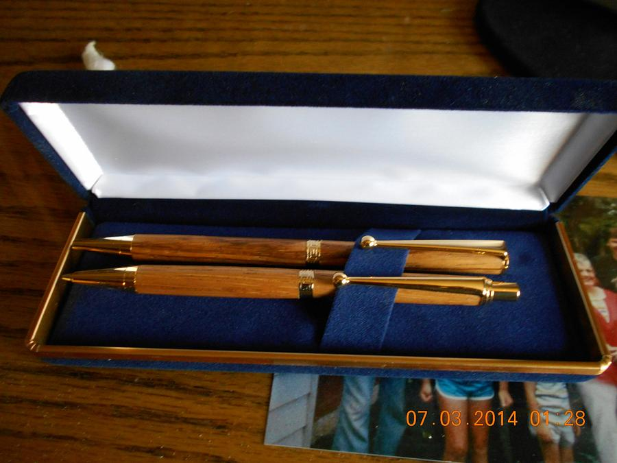 Pen and Pencil Set - Woodworking Project by Gary Houde