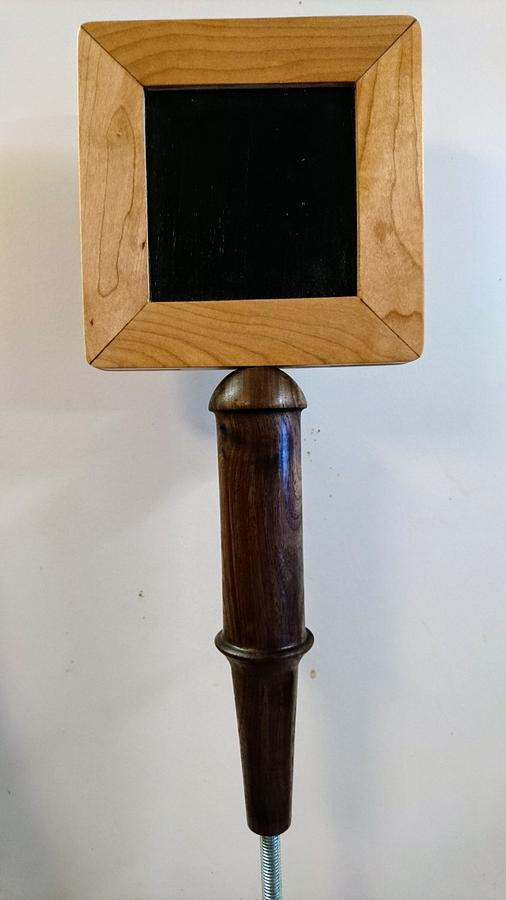 Beer Faucet Handle - Woodworking Project by Brian
