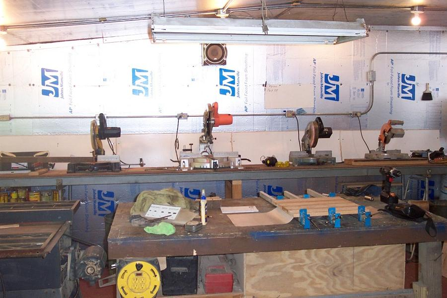 New Wood Shop - Woodworking Project by Wheaties  -  Bruce A Wheatcroft   ( BAW Woodworking)