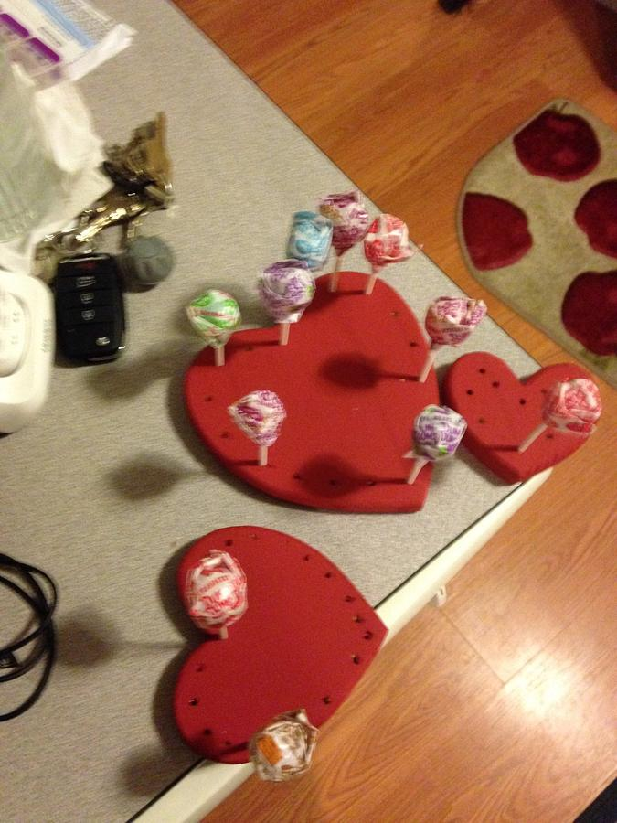 Heart pop holder - Woodworking Project by David A Sylvester