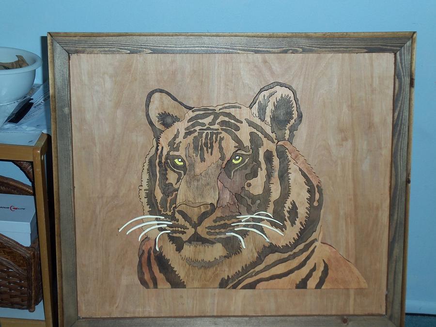 tiger - Woodworking Project by Blackbeard