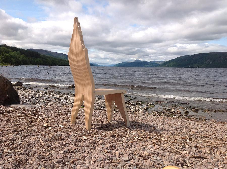 Angels Chair - Woodworking Project by RJFurniture