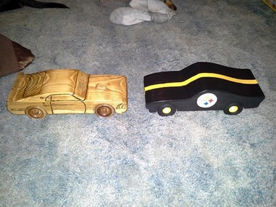 Christmas cars for the kids - Woodworking Project by Bens Wood Pile