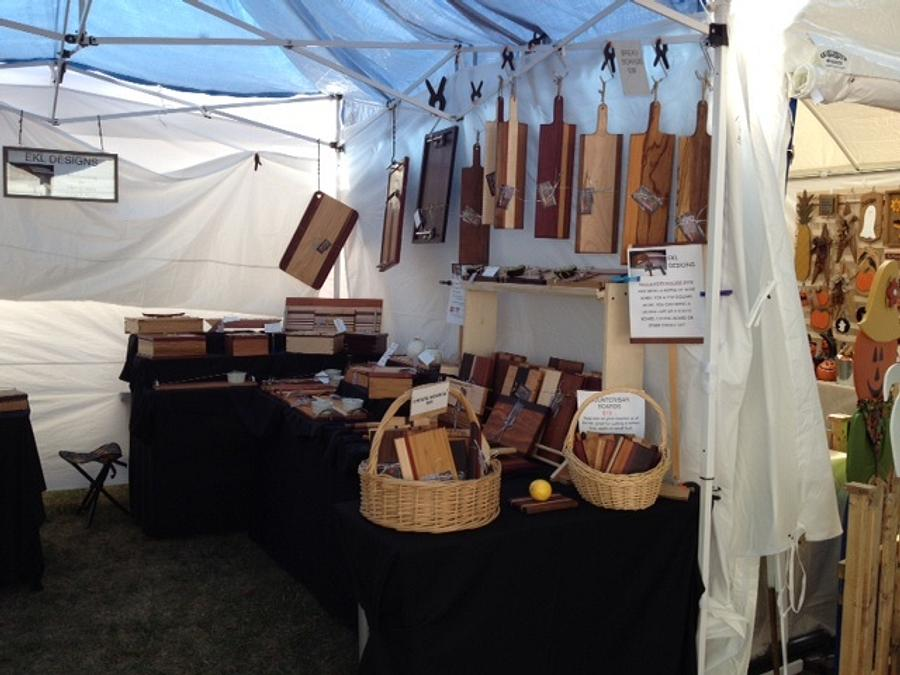 Items at the Fair - Woodworking Project by Ellen