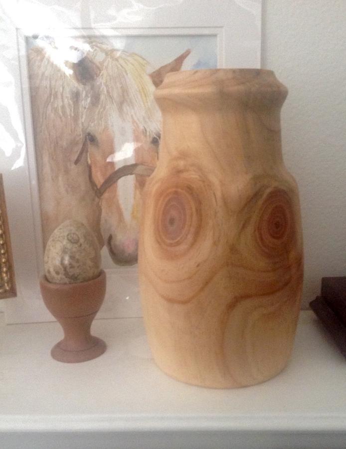 Grandma's Owl Jug - Woodworking Project by jimbotoc