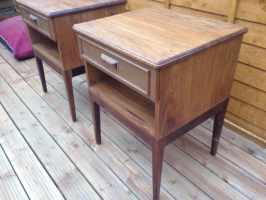 Bedside cabinets - Woodworking Project by iGotWood
