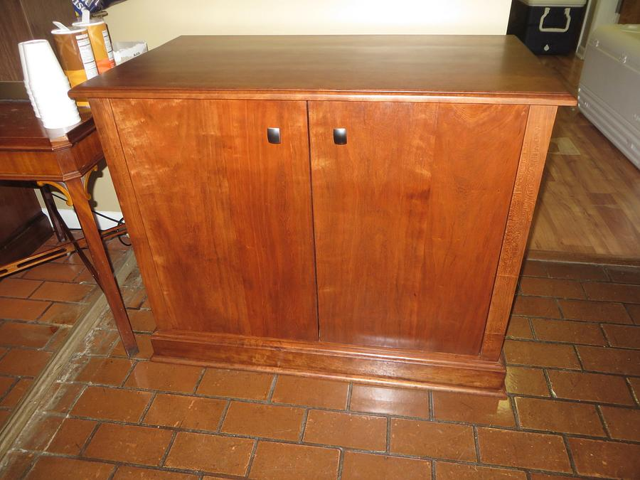 Cherry Cabinet /Stand for Coffee Maker - Woodworking Project by oldrivers