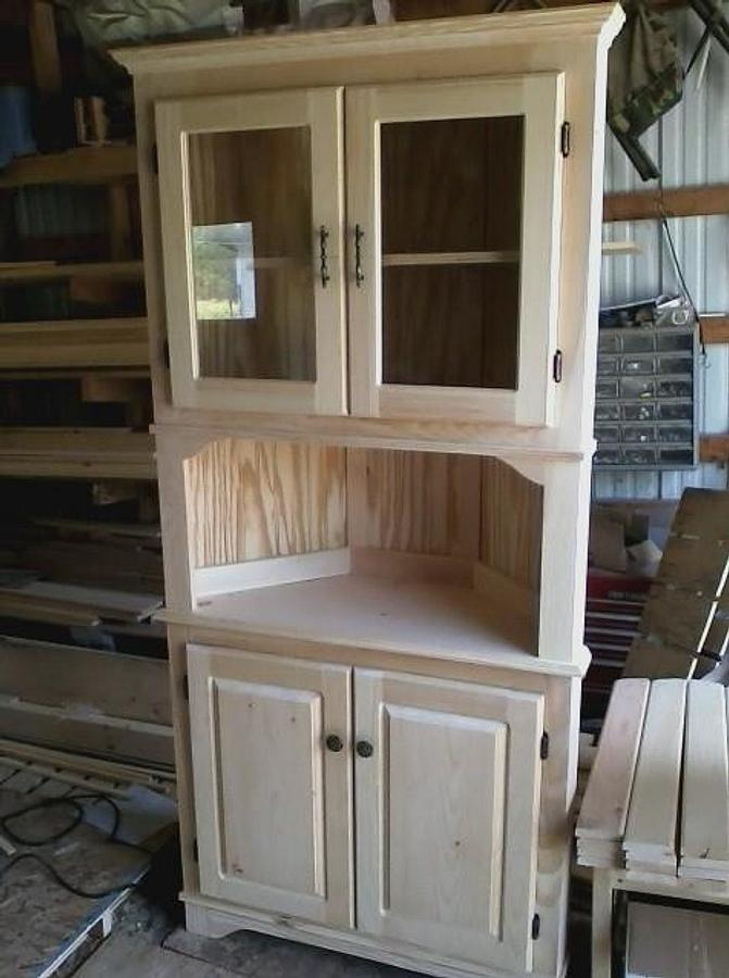 corner cabinet - Woodworking Project by Jerbear