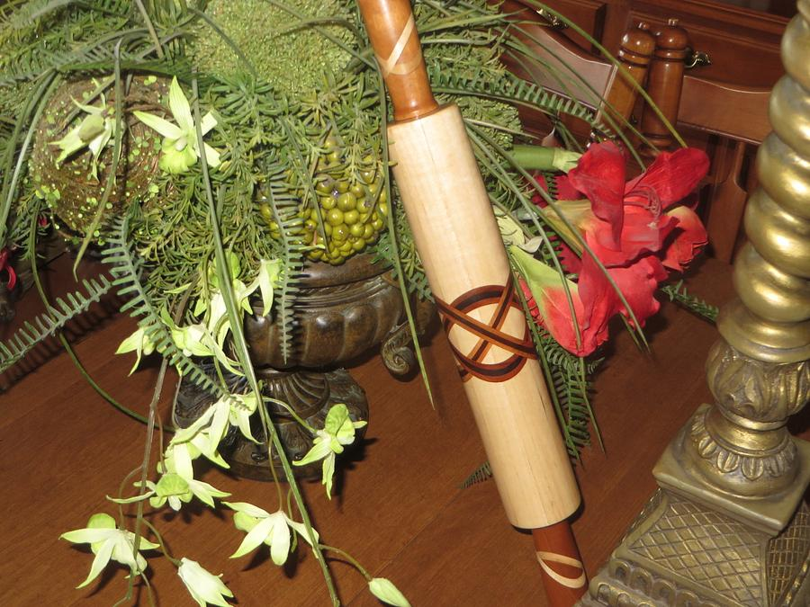 Love knot rolling pin - Woodworking Project by oldrivers