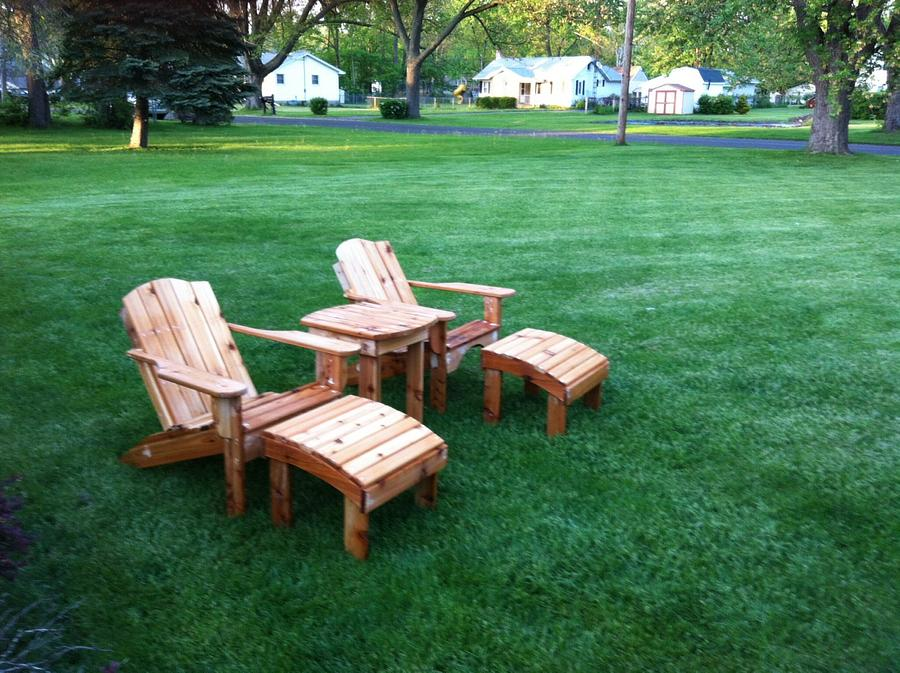 Outdoor chairs  - Woodworking Project by Learch