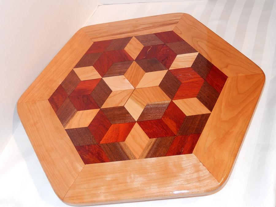 lazy susan - Woodworking Project by walnut65