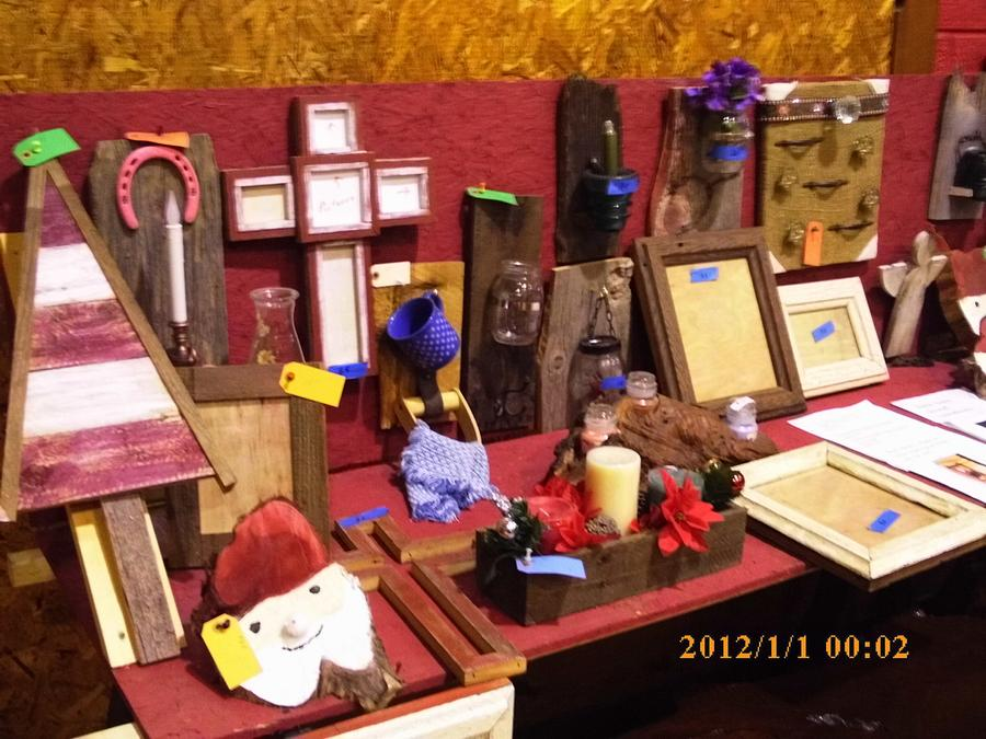 craft show items - Woodworking Project by barnwoodcreations