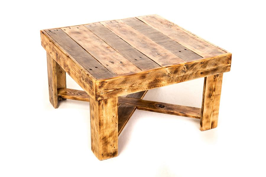 Pallet Wood Coffee Table - Woodworking Project by ryanhmiller