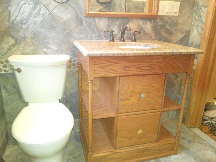 Custom Vanity  - Woodworking Project by Peepaw