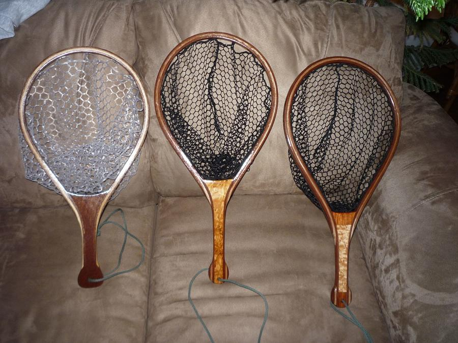 Trout Nets - Woodworking Project by Oldmil