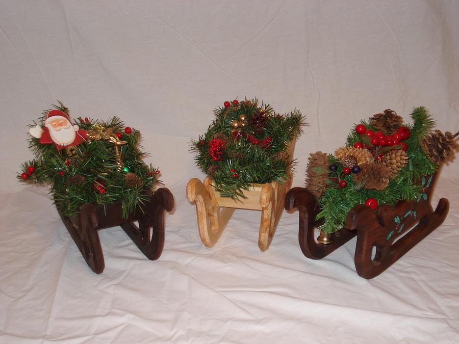 CHRISTMAS SLEIGH - Woodworking Project by kiefer