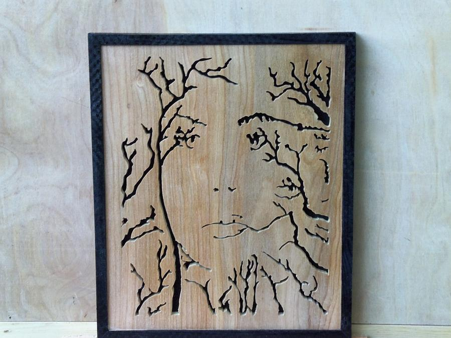tree lady - Woodworking Project by Blackbeard