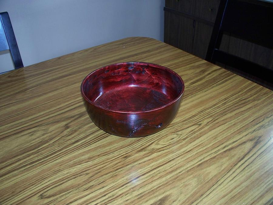 Deep Bowl - Woodworking Project by Boyne Drover