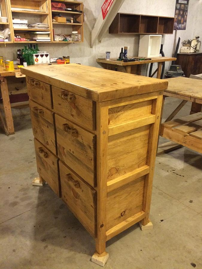 6 drawer solid pine dresser  - Woodworking Project by Wowrustics