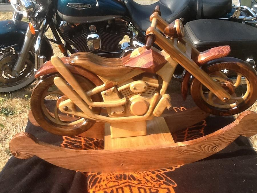 Custom motorcycle  - Woodworking Project by BradsCreations