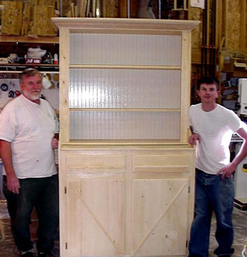 Irish cupboard - Woodworking Project by a1jim