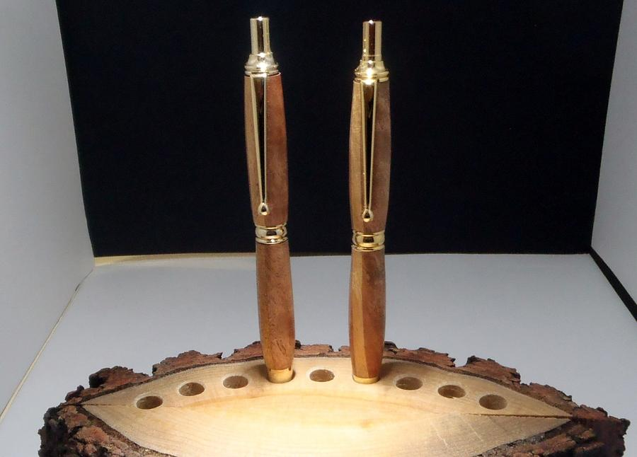 Power Pen & Pencil Sets - Woodworking Project by Tony
