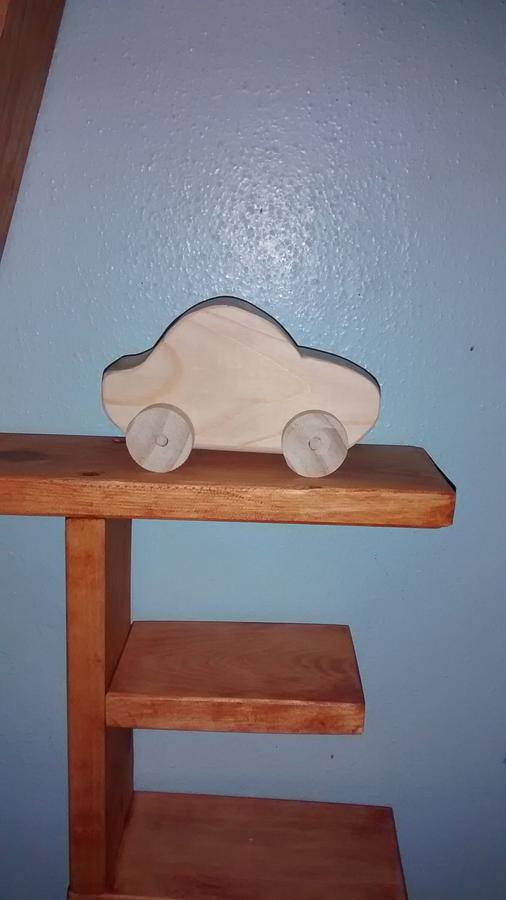 Wooden Toy Car - Woodworking Project by Roy