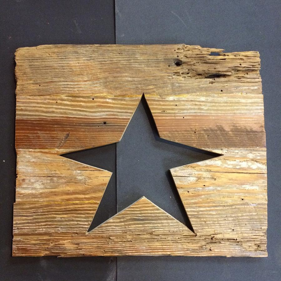Rustic Star - Woodworking Project by Leldon Maxcy