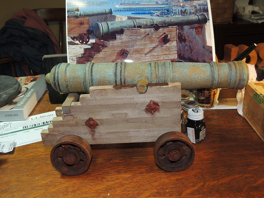 Spanish Cannon - Woodworking Project by Rolando Pupo